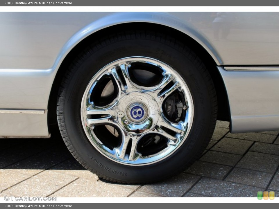 2003 Bentley Azure Wheels and Tires