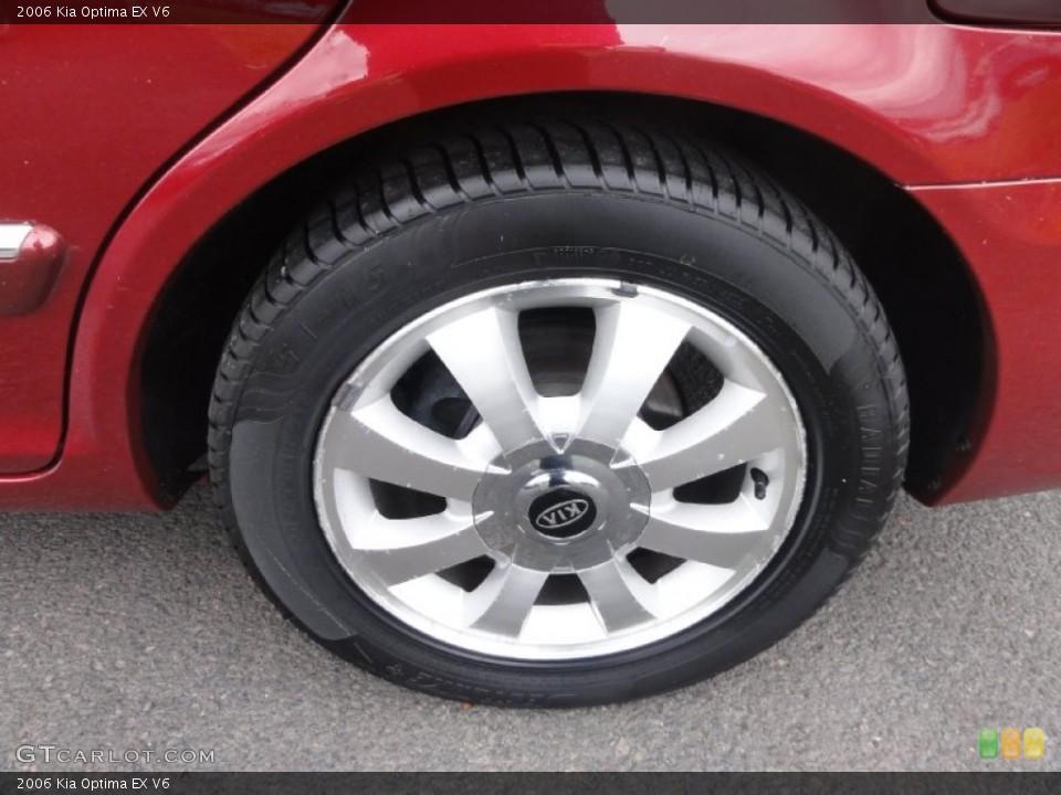 2006 Kia Optima Wheels and Tires