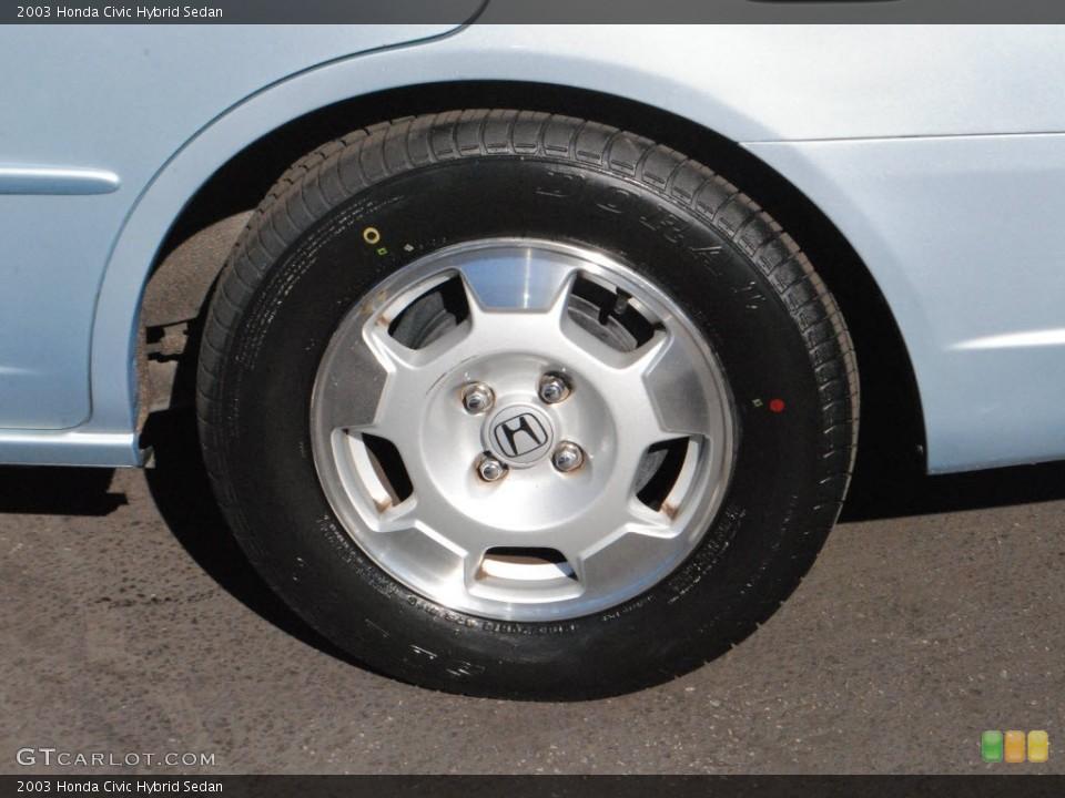 2003 Honda Civic Hybrid Sedan Wheel And Tire Photo 73516809