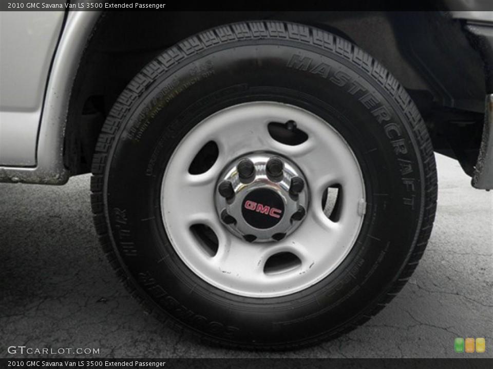 2010 GMC Savana Van Wheels and Tires