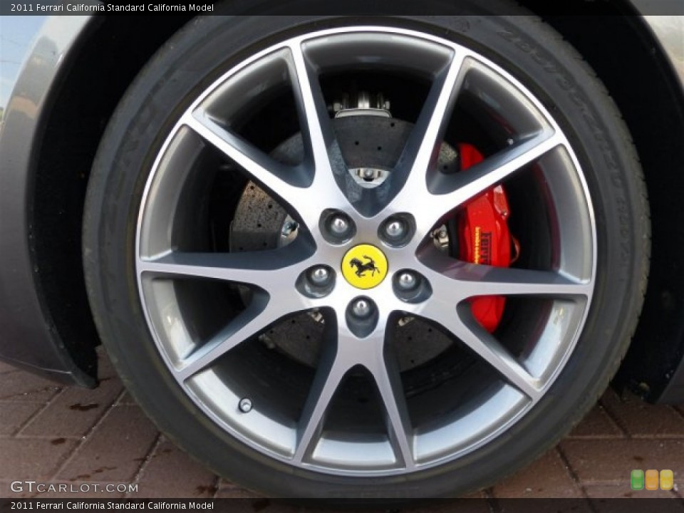 2011 Ferrari California  Wheel and Tire Photo #73719194