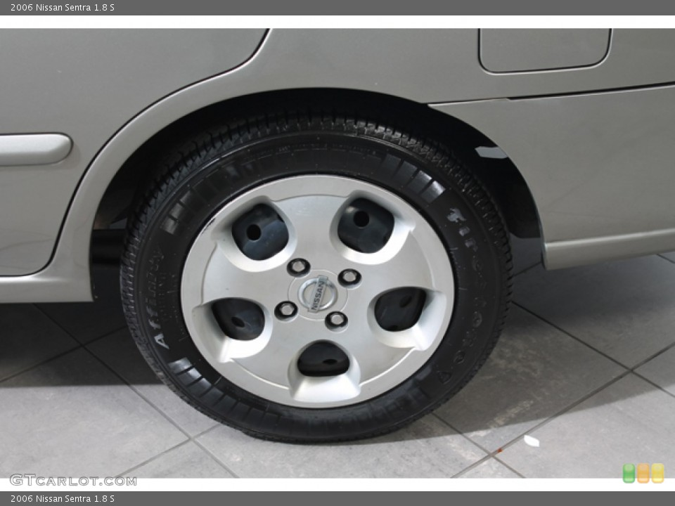 2006 Nissan Sentra Wheels and Tires