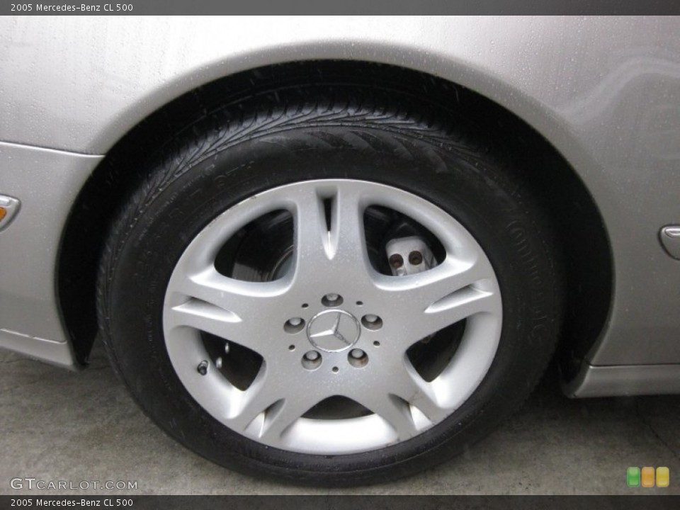2005 Mercedes-Benz CL Wheels and Tires