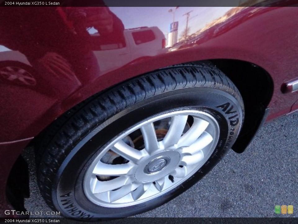 2004 Hyundai XG350 L Sedan Wheel and Tire Photo #74866640
