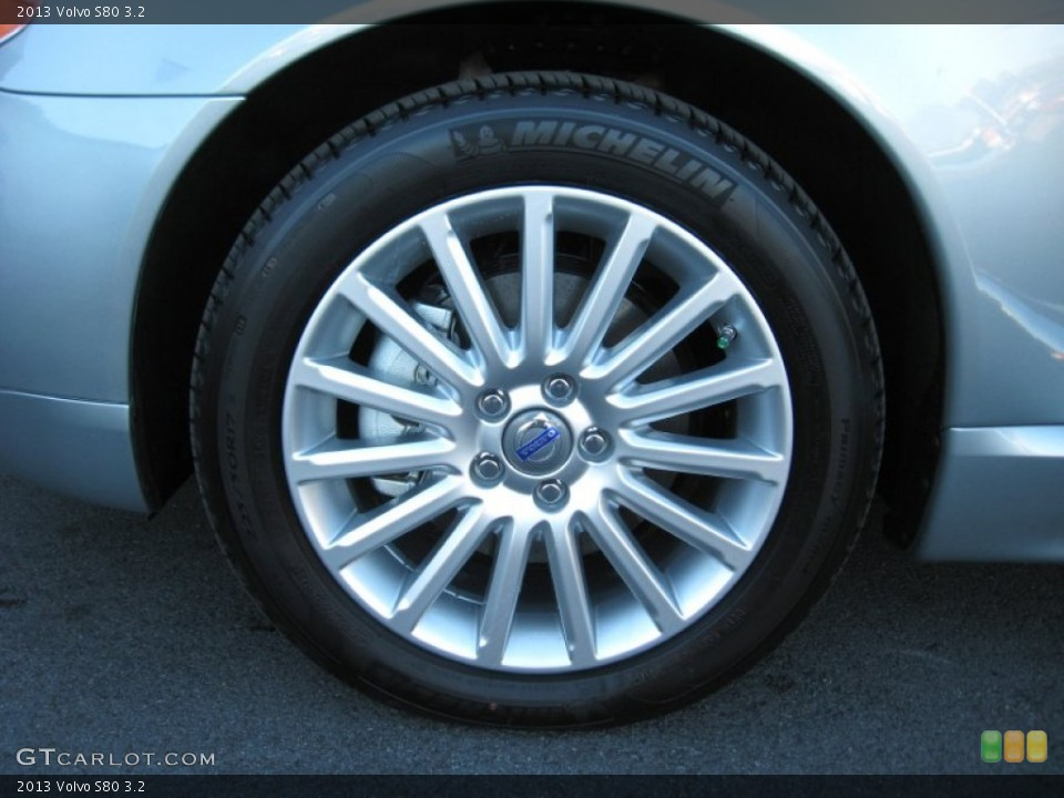 2013 Volvo S80 Wheels and Tires