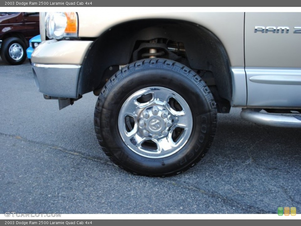 2003 Dodge Ram 2500 Wheels and Tires