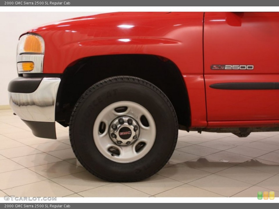 2000 GMC Sierra 2500 Wheels and Tires