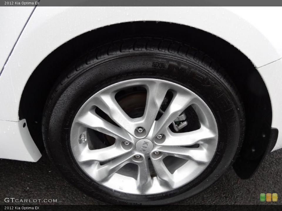 2012 Kia Optima Wheels and Tires
