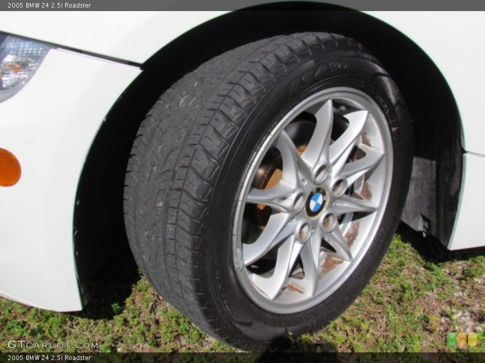 2005 Bmw Z4 2 5i Roadster Wheel And Tire Photo 76807562