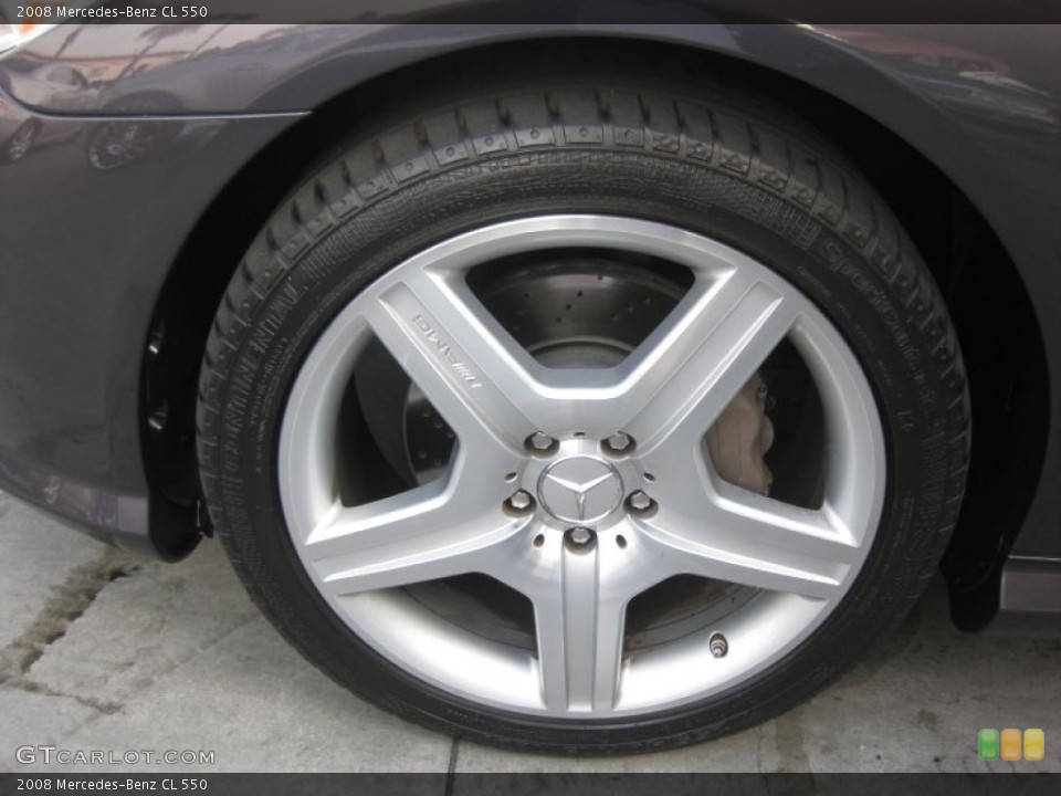 2008 Mercedes-Benz CL Wheels and Tires
