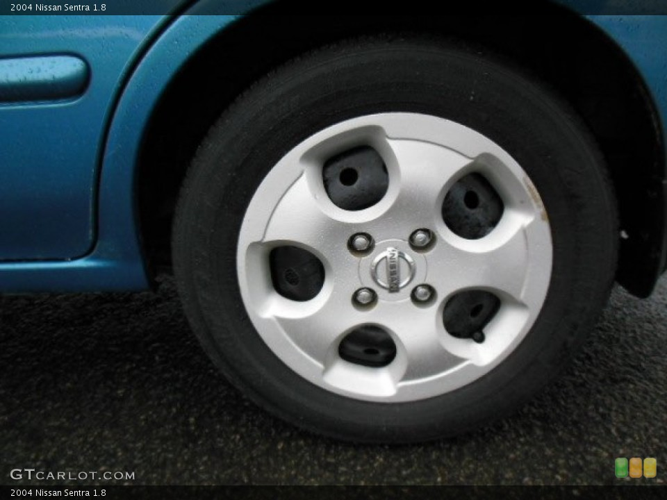 2004 Nissan Sentra 1.8 Wheel and Tire Photo #77004996