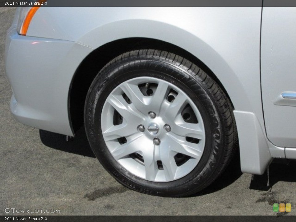 2011 Nissan Sentra Wheels and Tires