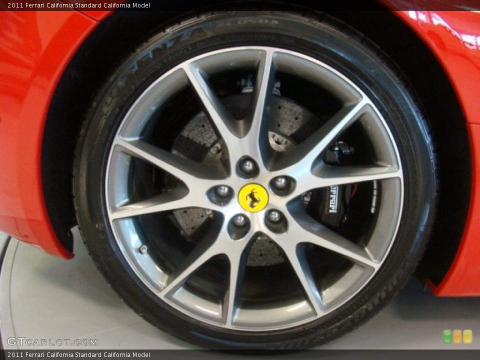 2011 Ferrari California  Wheel and Tire Photo #77478882