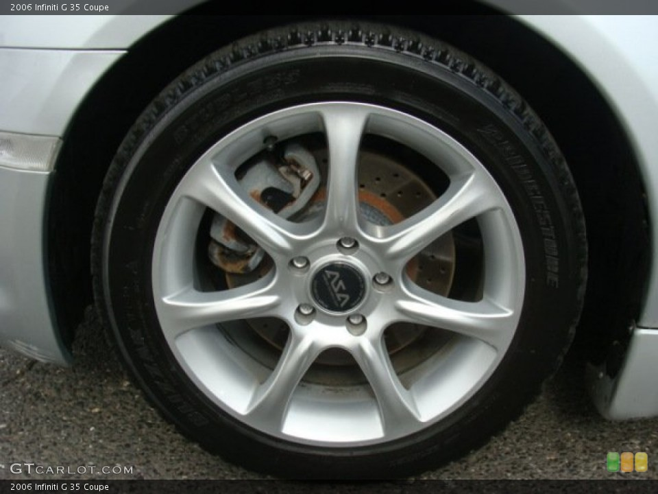 2006 Infiniti G Wheels and Tires