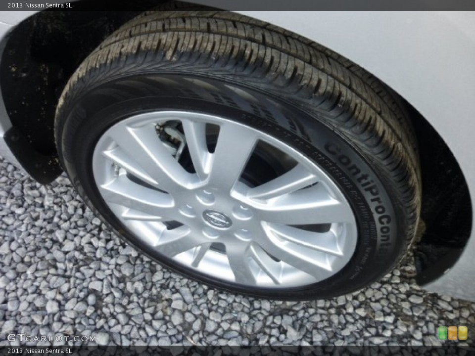 2013 Nissan Sentra Wheels and Tires