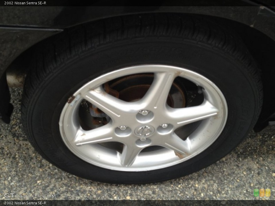 2002 Nissan Sentra Wheels and Tires