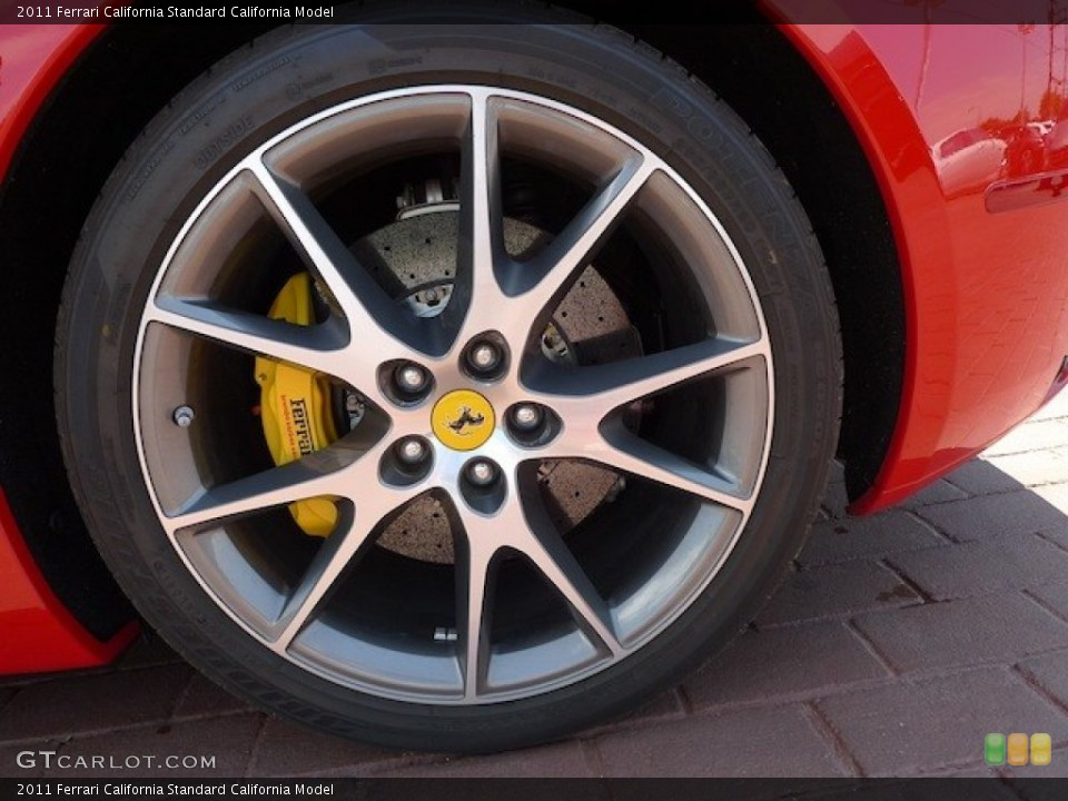 2011 Ferrari California  Wheel and Tire Photo #77850628