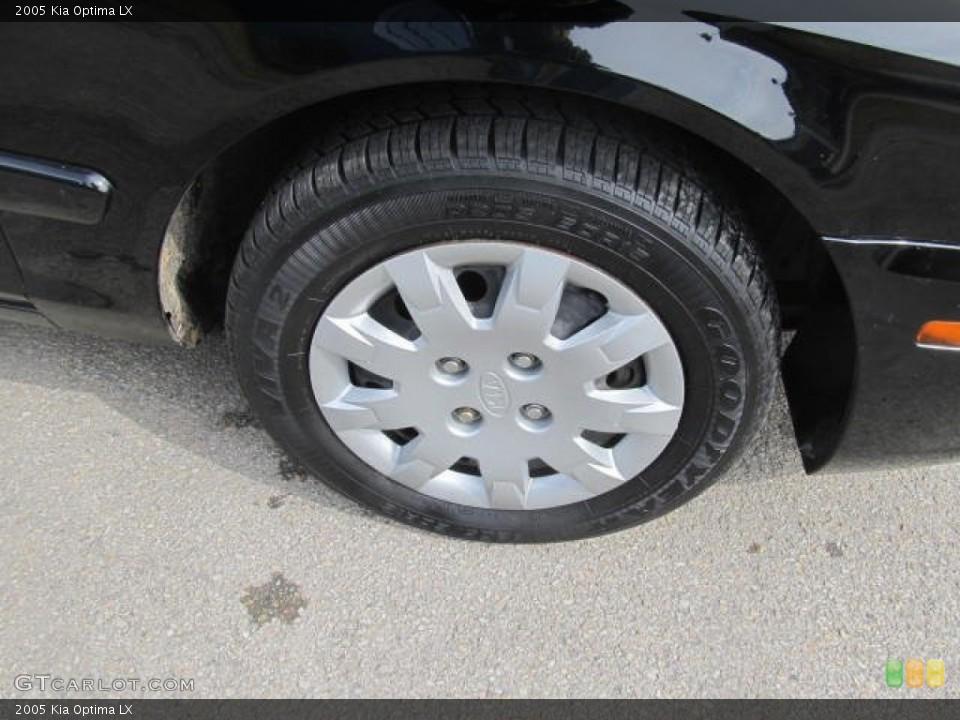 2005 Kia Optima Wheels and Tires