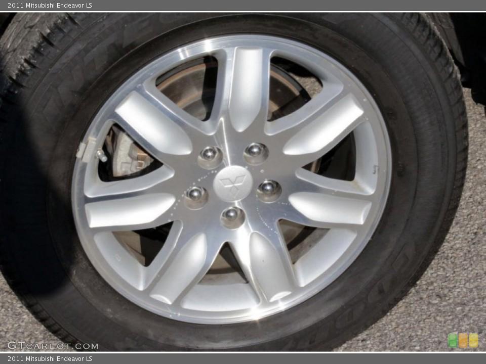 2011 Mitsubishi Endeavor LS Wheel and Tire Photo #78221923