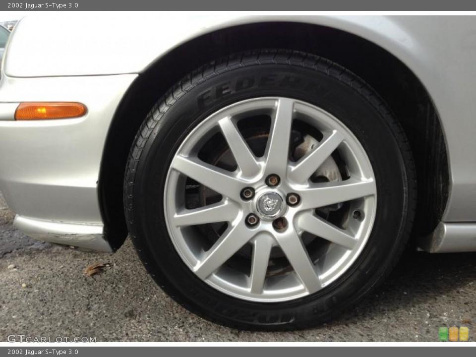 2002 Jaguar S-Type Wheels and Tires