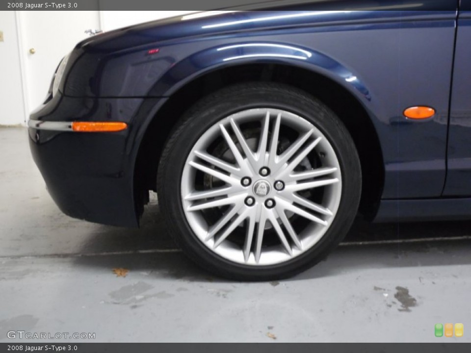 2008 Jaguar S-Type Wheels and Tires