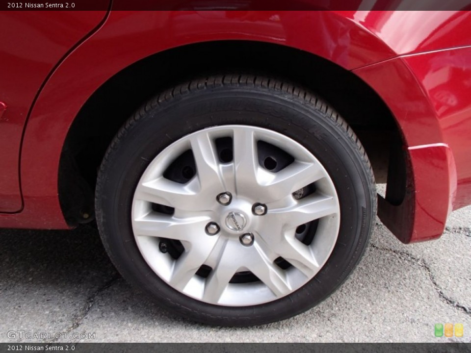 2012 Nissan Sentra Wheels and Tires