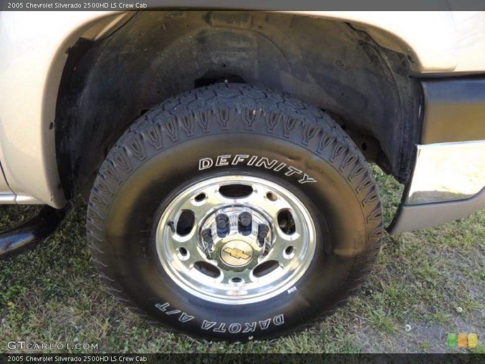2005 Chevrolet Silverado 2500HD Wheels and Tires   GTCarLot.com