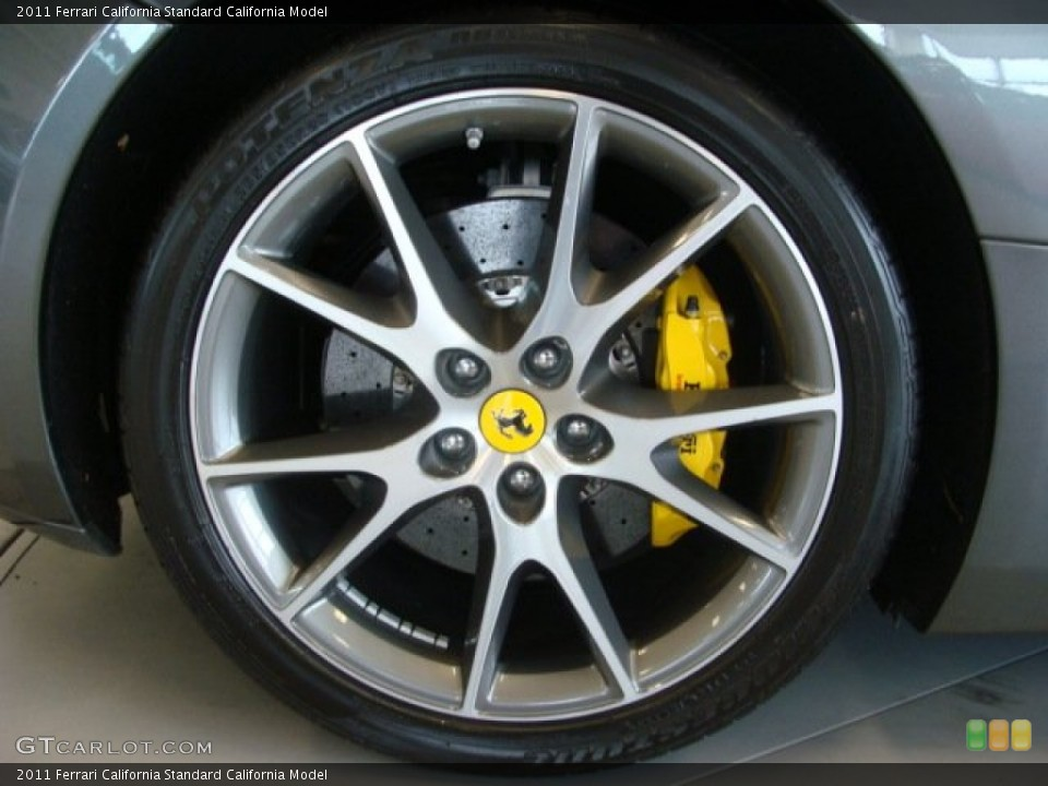 2011 Ferrari California  Wheel and Tire Photo #79015723