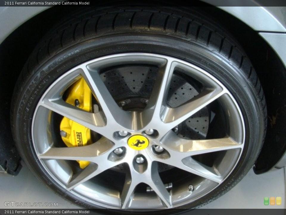 2011 Ferrari California  Wheel and Tire Photo #79015735