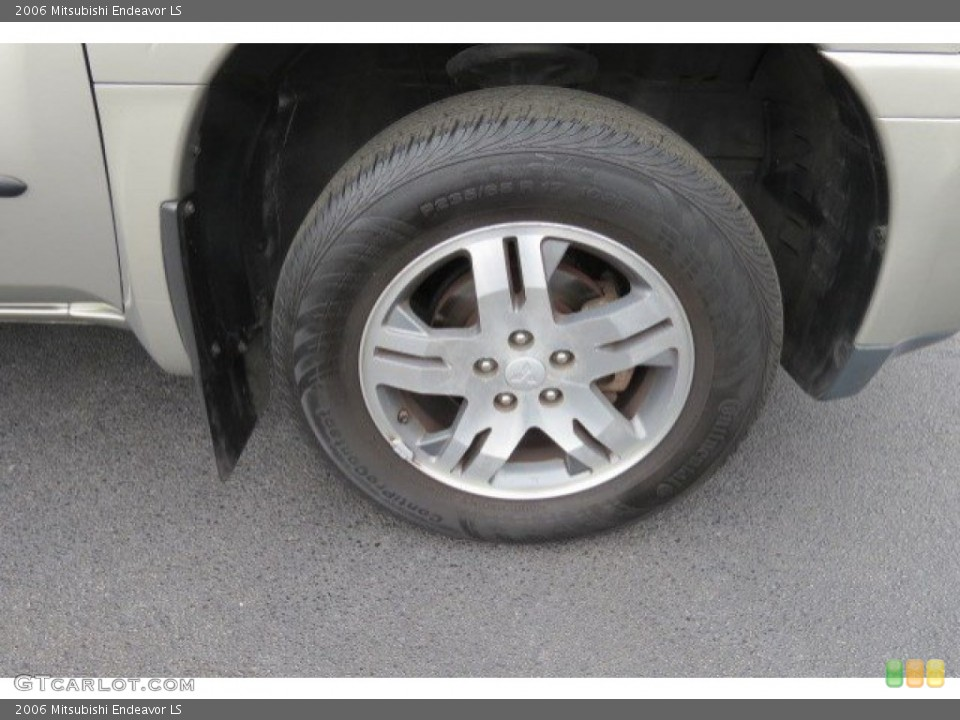 2006 Mitsubishi Endeavor Wheels and Tires