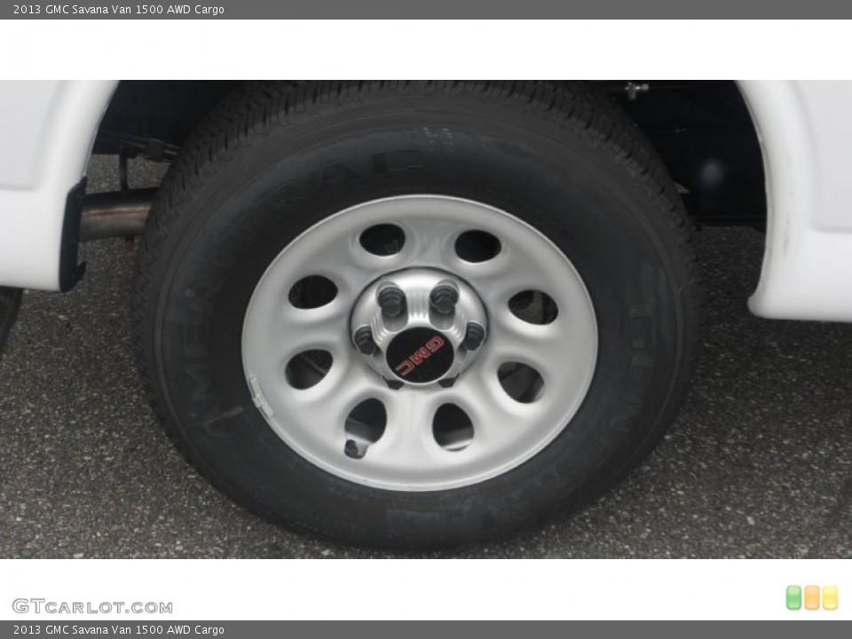 2013 GMC Savana Van Wheels and Tires