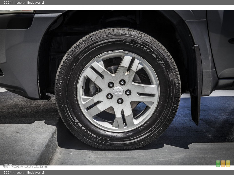 2004 Mitsubishi Endeavor Wheels and Tires