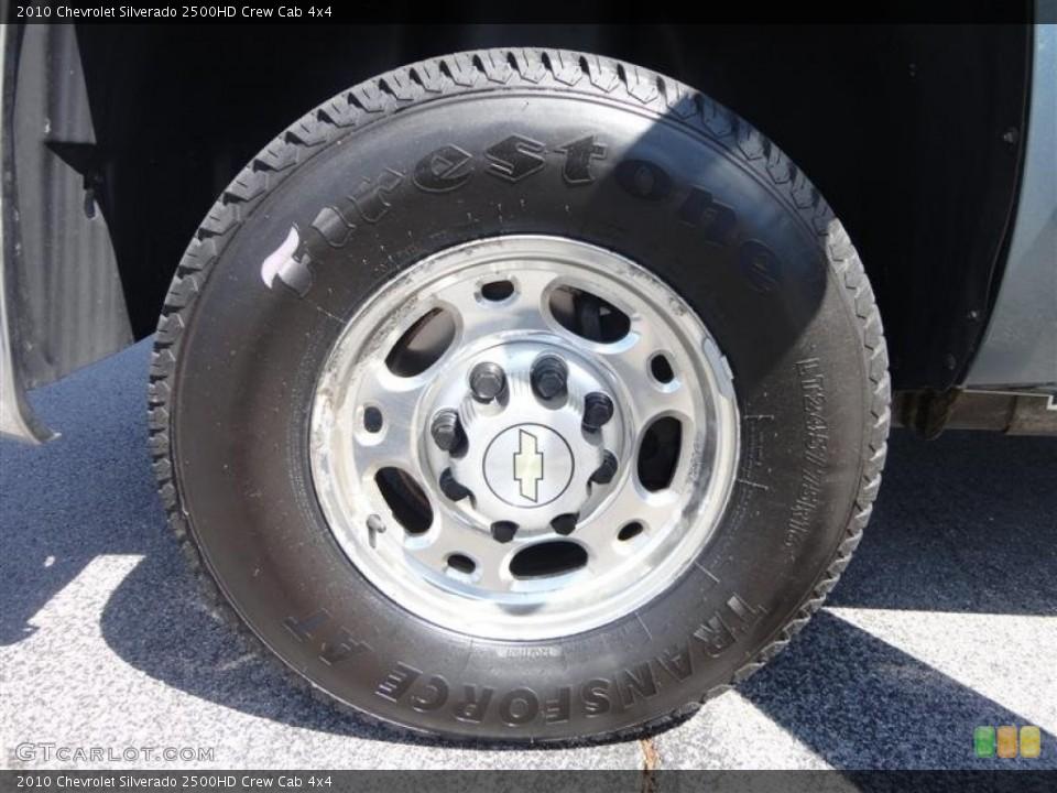 2010 Chevrolet Silverado 2500HD Wheels and Tires   GTCarLot.com