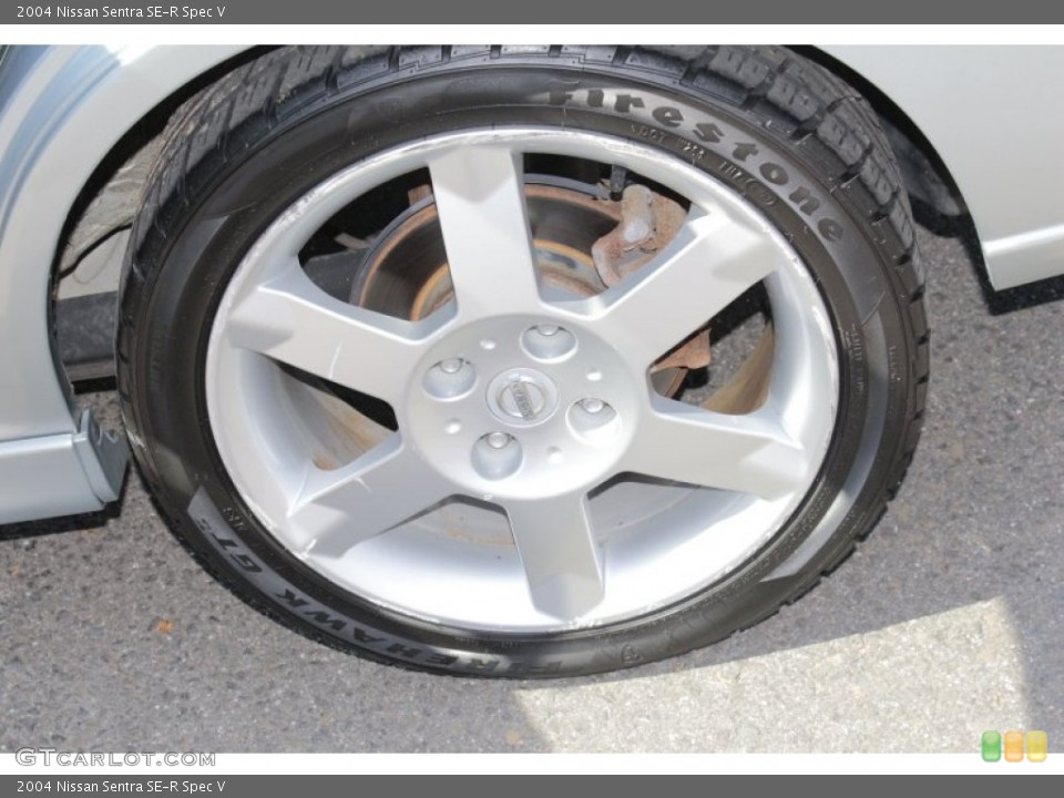 2004 Nissan Sentra SE-R Spec V Wheel and Tire Photo #80294066