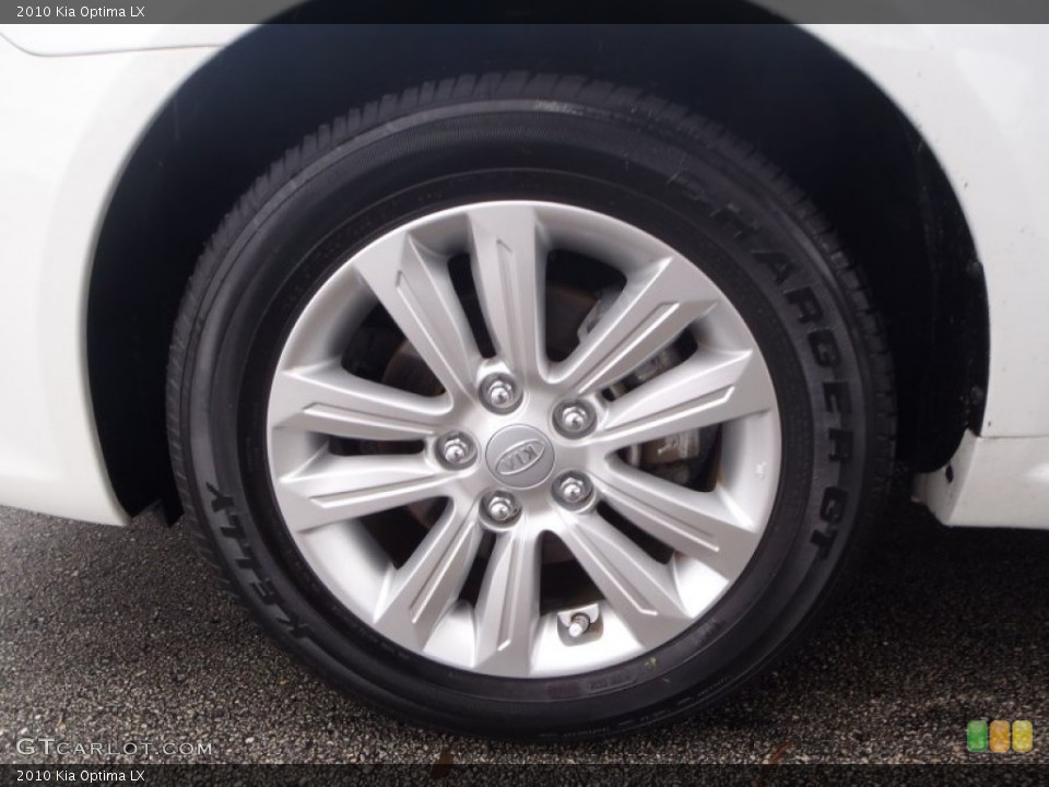 2010 Kia Optima Wheels and Tires