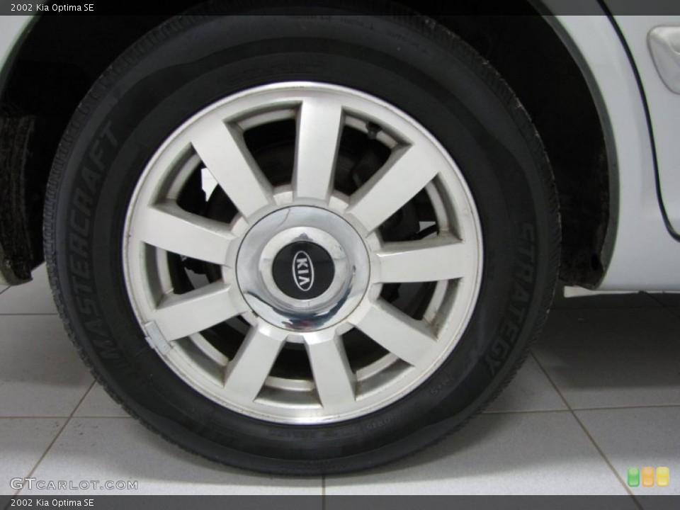 2002 Kia Optima Wheels and Tires