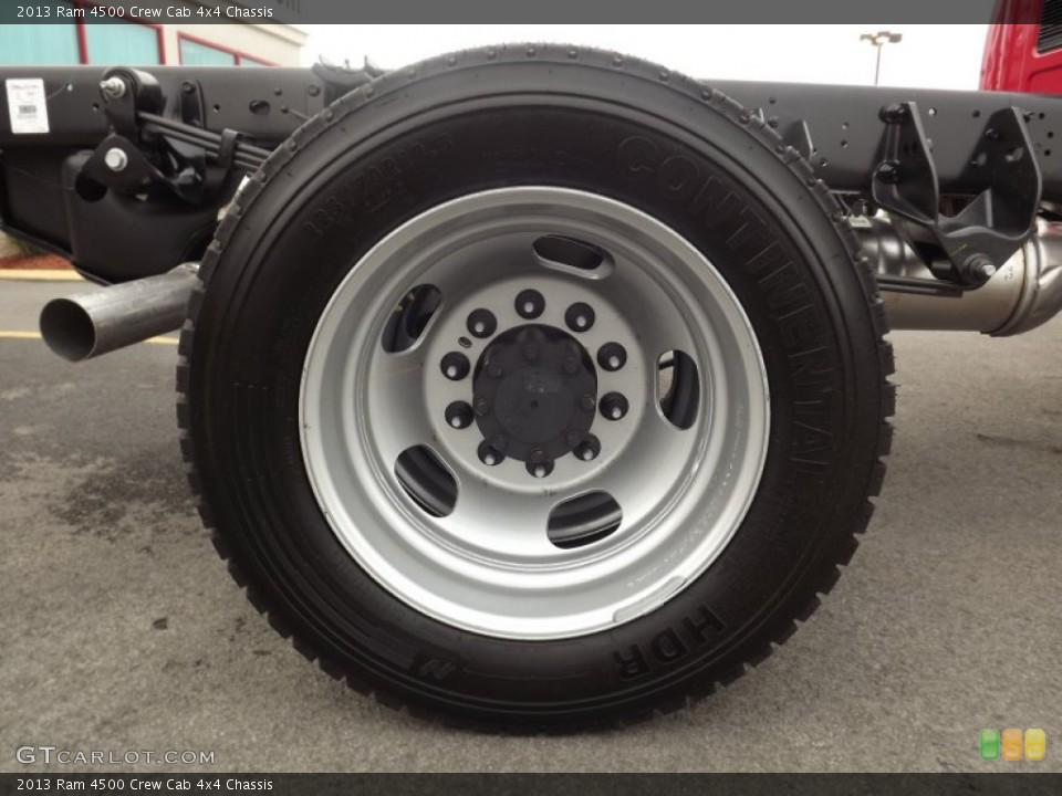 2013 Ram 4500 Wheels and Tires