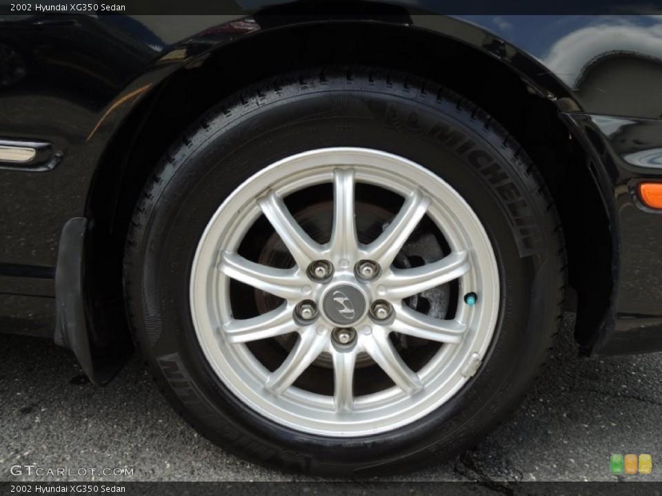 2002 Hyundai XG350 Wheels and Tires