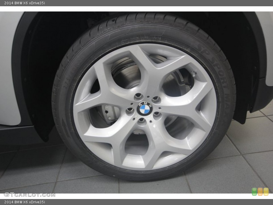 2014 Bmw X6 Xdrive35i Wheel And Tire Photo 81933385