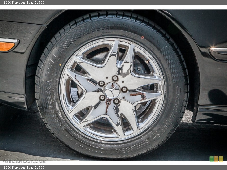 2000 Mercedes-Benz CL Wheels and Tires