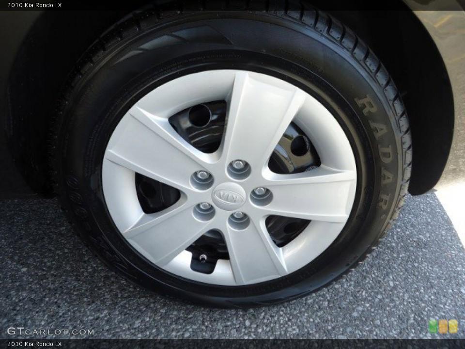 2010 Kia Rondo Wheels and Tires