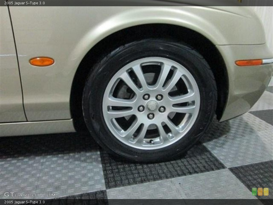 2005 Jaguar S-Type Wheels and Tires