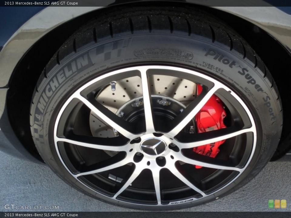 2013 Mercedes-Benz SLS Wheels and Tires