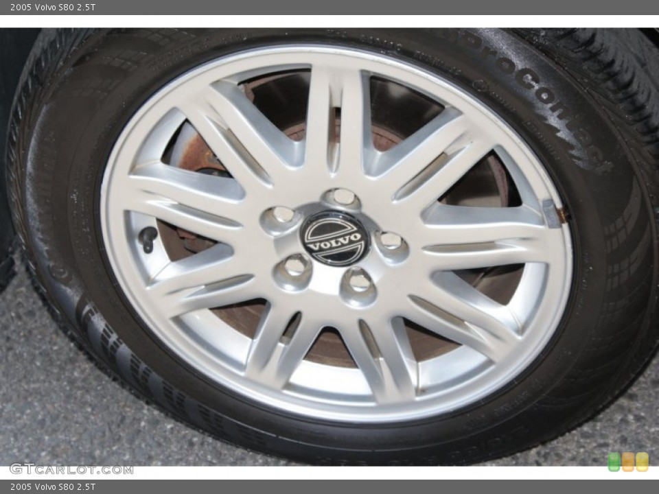 2005 Volvo S80 Wheels and Tires