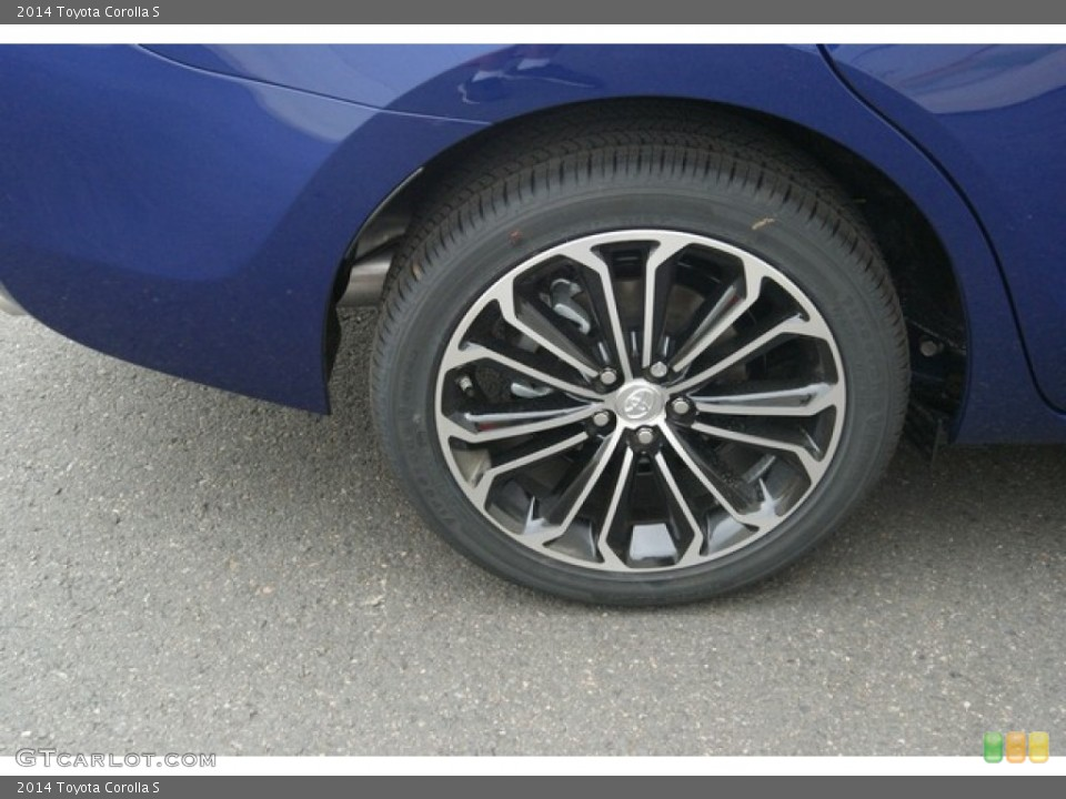 2014 toyota corolla s wheel and tire photo 85248275