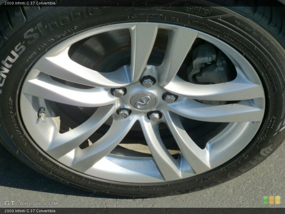 2009 Infiniti G Wheels and Tires