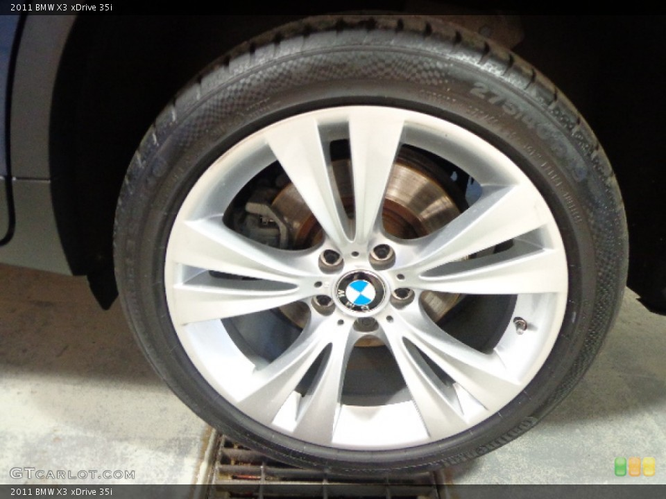 2011 Bmw X3 Xdrive 35i Wheel And Tire Photo 86148183