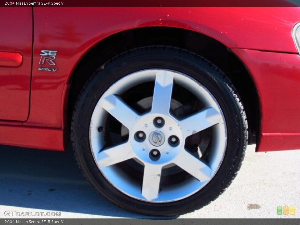 2004 Nissan Sentra SE-R Spec V Wheel and Tire Photo #86611305
