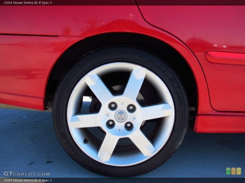 2004 Nissan Sentra SE-R Spec V Wheel and Tire Photo #86611320