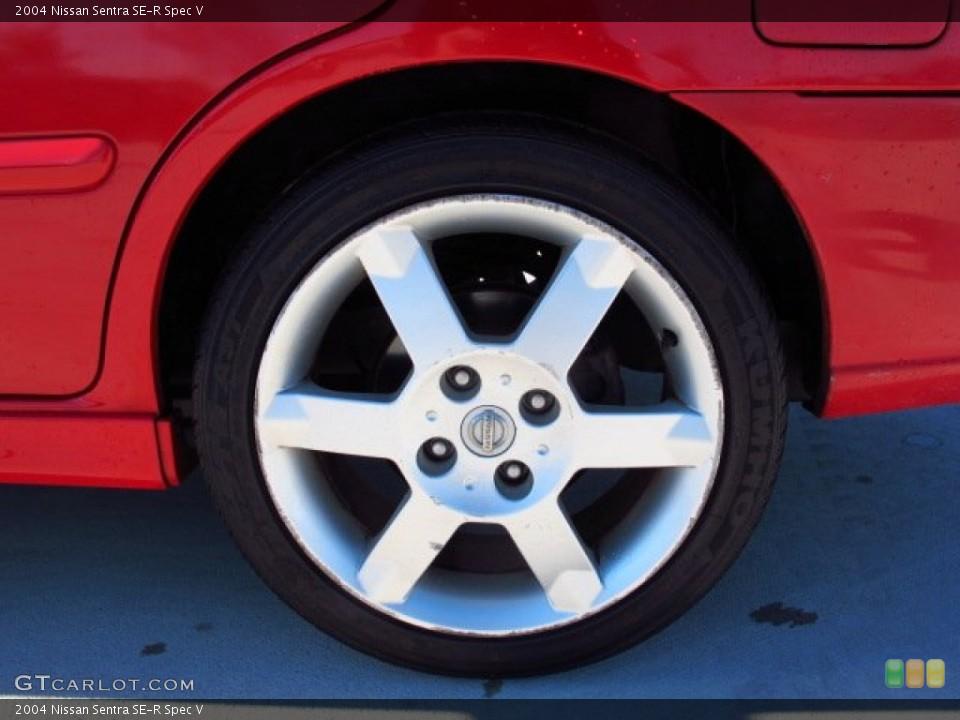 2004 Nissan Sentra SE-R Spec V Wheel and Tire Photo #86611335